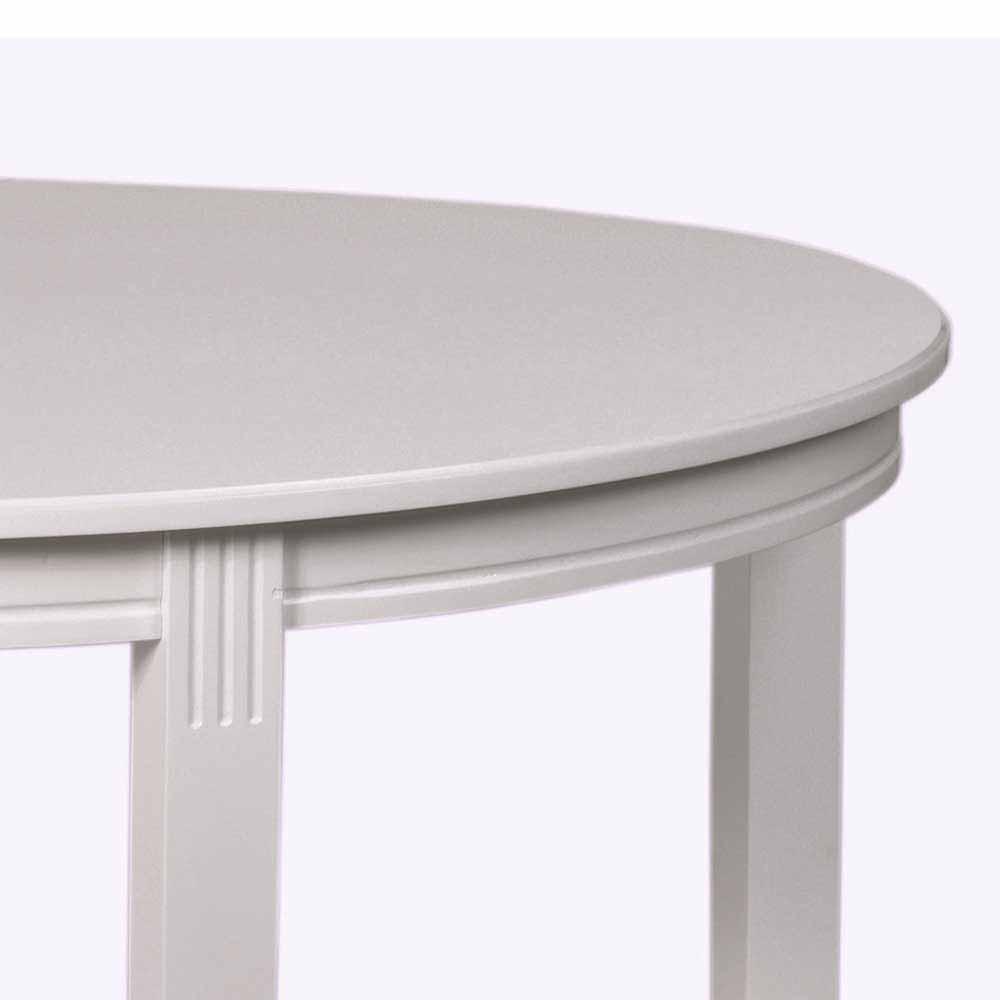 Full Size of Esstisch Oval Weiß Ovaler In Wei Ausziehbar Tisch Kaufende Esstische Massivholz Designer Lampen 2m Regale Badezimmer Hochschrank Hochglanz Kernbuche Esstische Esstisch Oval Weiß