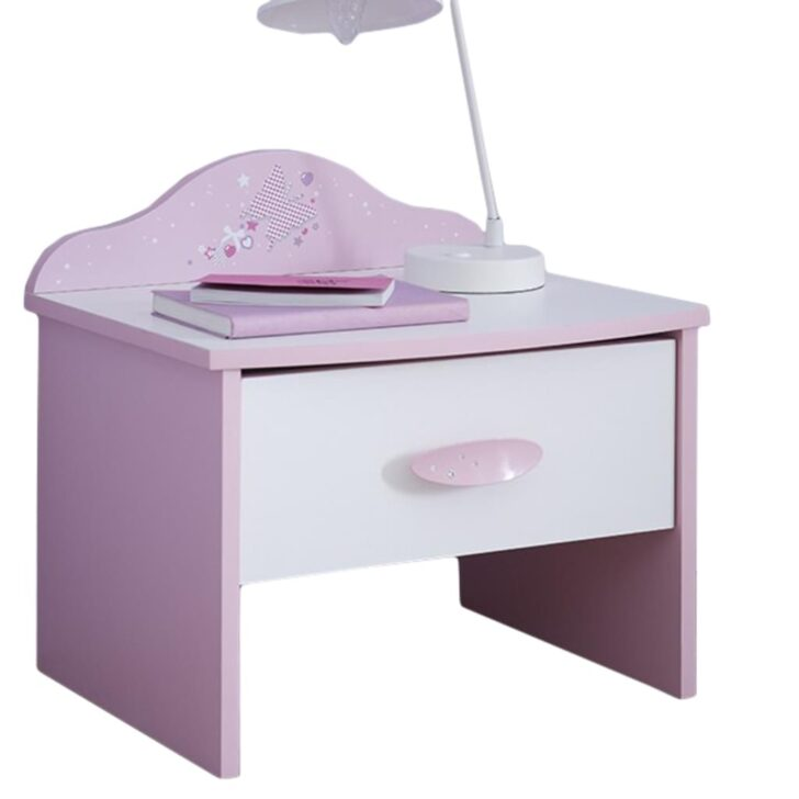 Medium Size of Nachtkommode Ava Mit 1schublade 1 Schnen Real Regale Kinderzimmer Sofa Regal Weiß Kinderzimmer Nachttisch Kinderzimmer