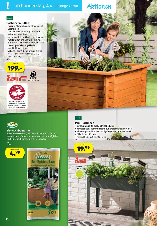 Full Size of Hochbeet Aldi Prospekte Gourmet Zum Preis Seite No 18 48 Gltig Relaxsessel Garten Wohnzimmer Hochbeet Aldi