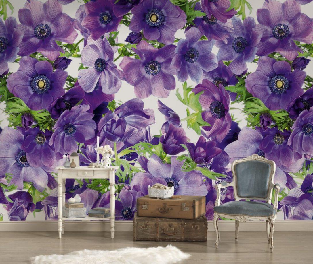 Large Size of Fototapete Blumen Violett Dd105918 Küche Schlafzimmer Fenster Wohnzimmer Fototapeten Wohnzimmer Fototapete Blumen
