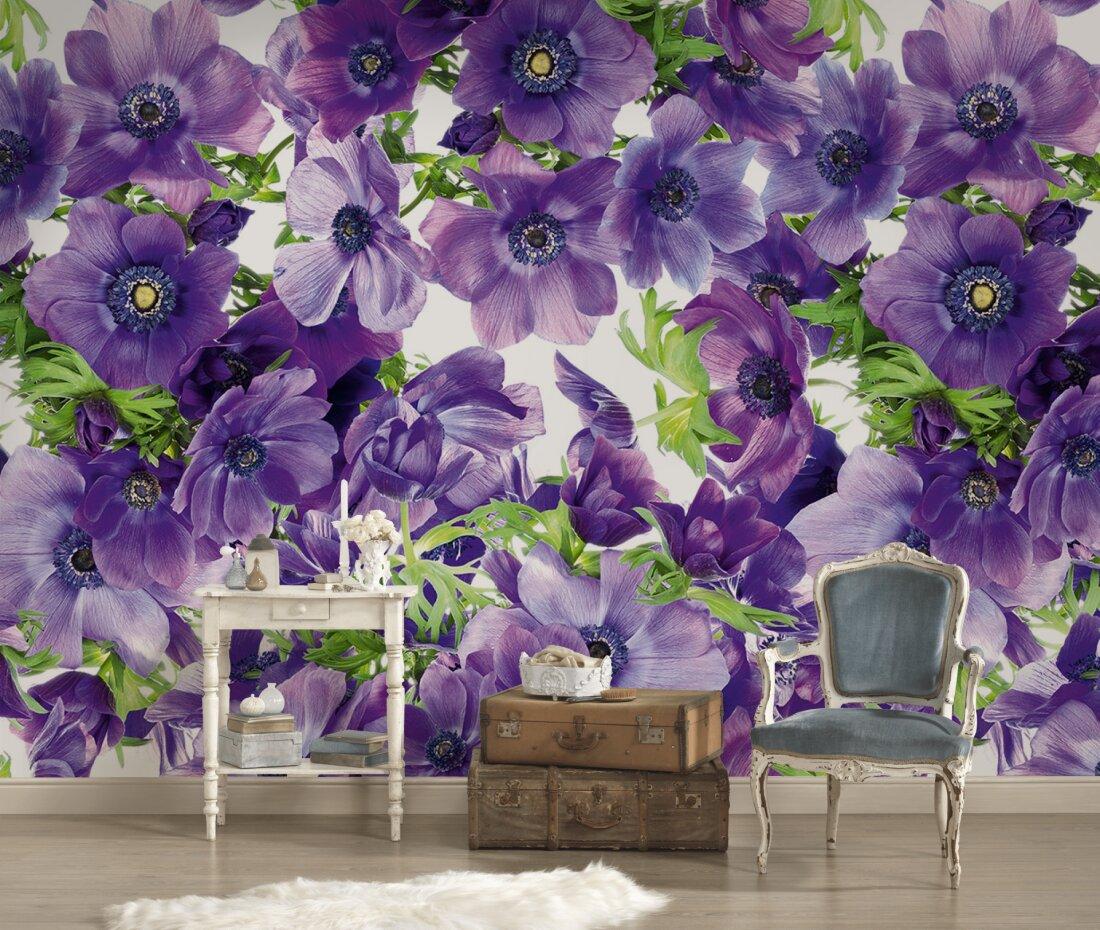 Full Size of Fototapete Blumen Violett Dd105918 Küche Schlafzimmer Fenster Wohnzimmer Fototapeten Wohnzimmer Fototapete Blumen