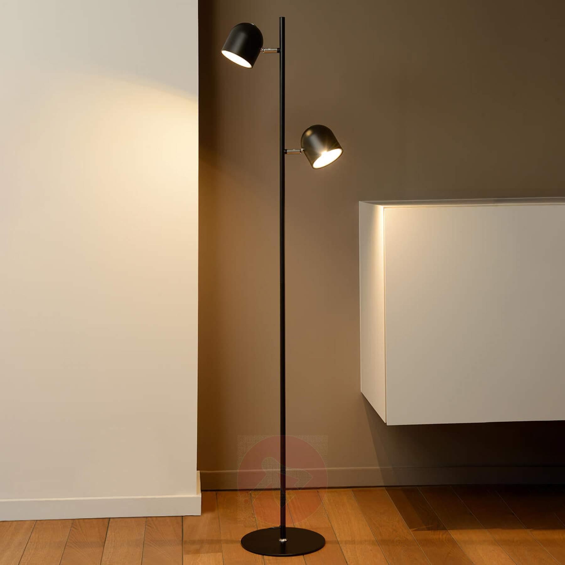 Full Size of Dimmbare Led Stehleuchte Skanska In Schwarz Kaufen Lampenweltde Stehlampe Schlafzimmer Wohnzimmer Stehlampen Wohnzimmer Stehlampe Dimmbar