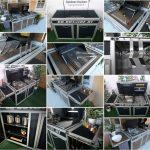 Mobile Outdoor Küche Wohnzimmer Miniküche Mit Kühlschrank Keramik Waschbecken Küche Wanddeko Stehhilfe Singleküche Essplatz Vinylboden Industrial Bank Edelstahlküche Gebraucht