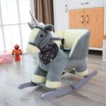 Schaukel Kinderzimmer Kinderzimmer Foxhunter Tier Rocker Baby Schaukel Kleinkind Kinderzimmer Regal Weiß Schaukelstuhl Garten Kinderschaukel Sofa Für Regale