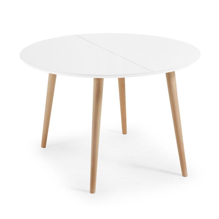 Medium Size of Runder Esstisch Ausziehbar Weiß Tisch Aus Holz In Modernem Design Upama Designer Esstische Weißes Schlafzimmer Betten Musterring Bett 160x200 Und Stühle Esstische Runder Esstisch Ausziehbar Weiß