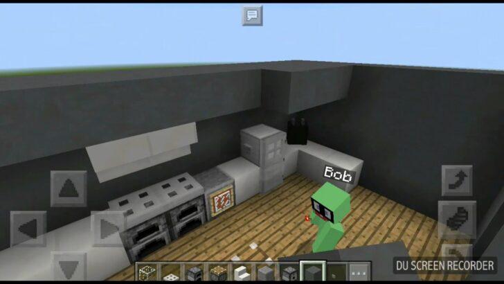 Medium Size of Minecraft Küche Wie Baut Man Eine Funktionierende Kche In Sebdab Keramik Waschbecken Led Panel Deckenleuchte Wasserhahn Scheibengardinen Nobilia Was Kostet Wohnzimmer Minecraft Küche