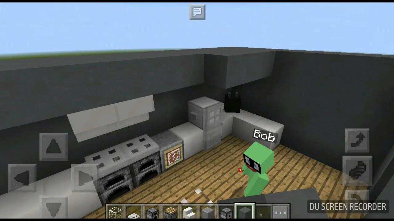 Full Size of Minecraft Küche Wie Baut Man Eine Funktionierende Kche In Sebdab Keramik Waschbecken Led Panel Deckenleuchte Wasserhahn Scheibengardinen Nobilia Was Kostet Wohnzimmer Minecraft Küche