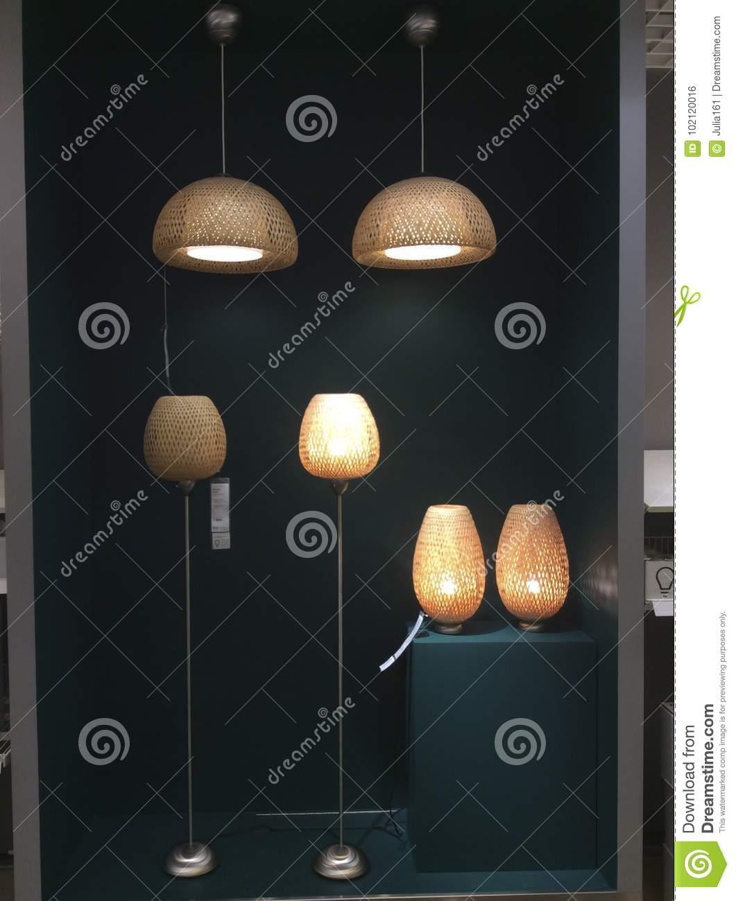 Full Size of Leuchter Und Lampen In Ikea Shop Redaktionelles Foto Bild Von Wohnzimmer Modulküche Betten Bei Esstisch Für Küche Kosten Miniküche Schlafzimmer Led Kaufen Wohnzimmer Ikea Lampen