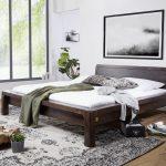 Bett Modern Wohnzimmer Bett Modern Aus Akazie Holz Gelt Grau Wildeiche 120 Cm Breit Schwarzes Japanisches Ebay Betten 180x200 Weiß 140x200 Test Ausgefallene Kopfteil Für