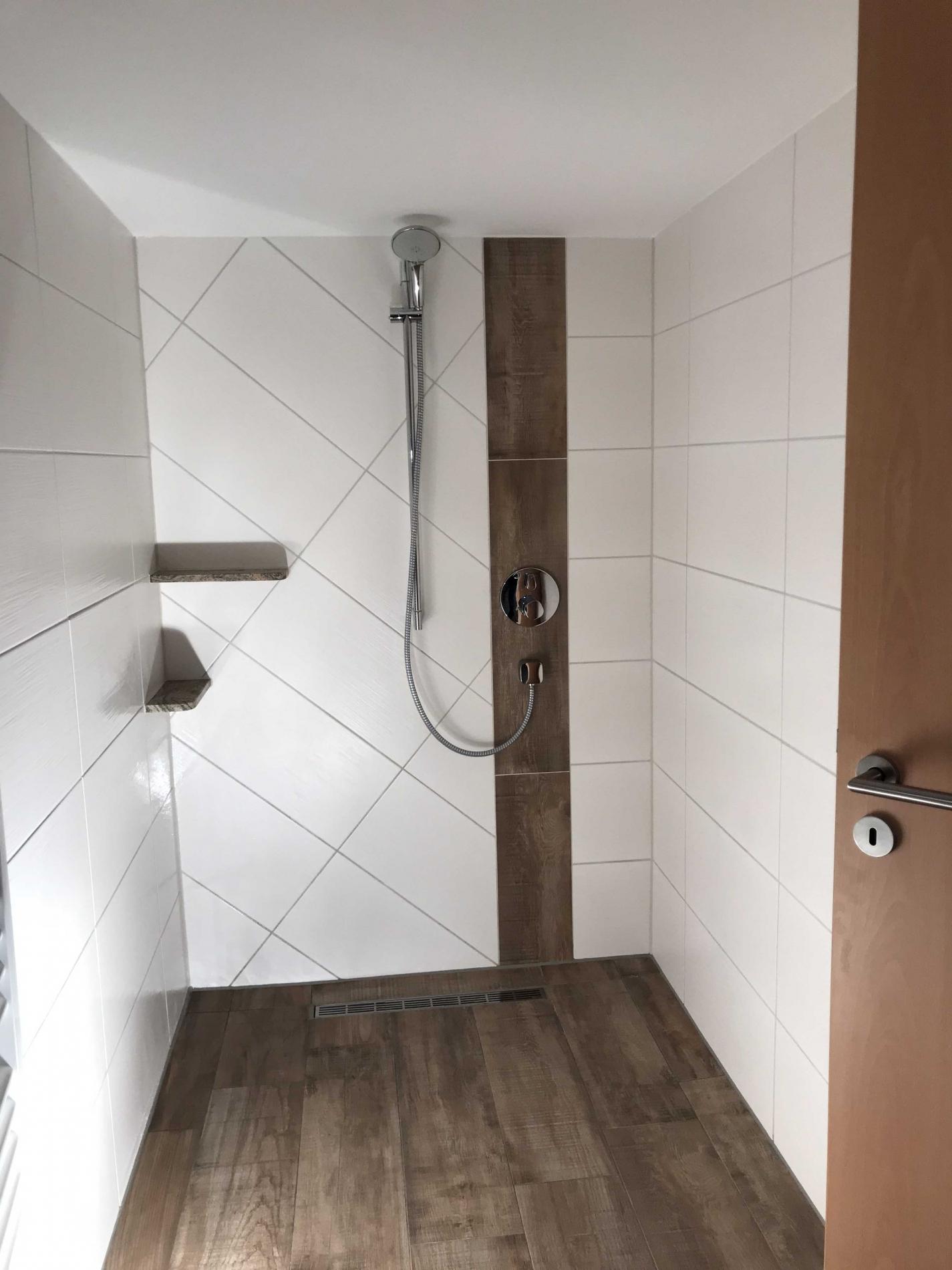 Dusche Platten Statt Fliesen Schulte Duschen Werksverkauf