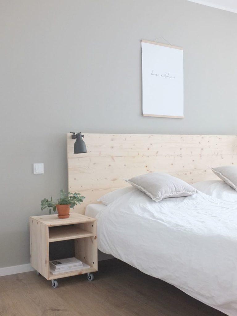 Full Size of Ikea Schlafzimmer Ideen Pinterest Einrichtungsideen Klein Hemnes Malm Kleine Wohngoldstck Hack Eine Neue Rckwand Fr Das Bett Stuhl Kronleuchter Betten Bei Wohnzimmer Ikea Schlafzimmer Ideen