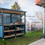 Küche Selbst Bauen Eine Auenkche Selber So Gehts Ein Stck Arbeit Planen Glaswand Deckenleuchten Vinylboden Beistellregal Segmüller Industriedesign Wohnzimmer Küche Selbst Bauen