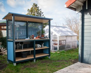 Küche Selbst Bauen Wohnzimmer Küche Selbst Bauen Eine Auenkche Selber So Gehts Ein Stck Arbeit Planen Glaswand Deckenleuchten Vinylboden Beistellregal Segmüller Industriedesign