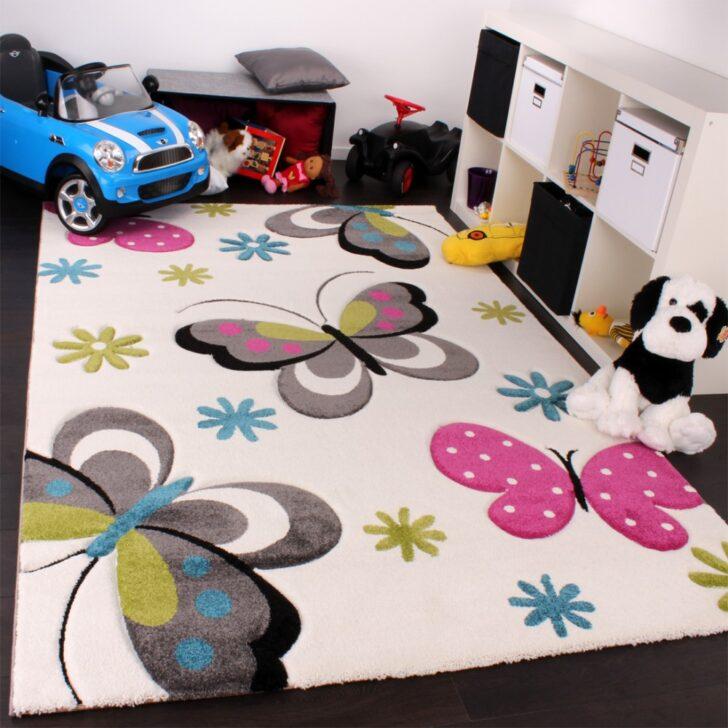 Medium Size of Teppiche Für Kinderzimmer Kinderteppich Schmetterling Creme Pink Blau Teppichcenter24 Sichtschutz Garten Spiegelschrank Bad Sprüche Die Küche Betten Kinderzimmer Teppiche Für Kinderzimmer