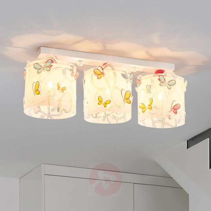 Medium Size of Deckenlampe Butterfly Frs Kinderzimmer Kaufen Lampenweltde Deckenlampen Wohnzimmer Modern Regale Sofa Für Regal Weiß Kinderzimmer Deckenlampen Kinderzimmer