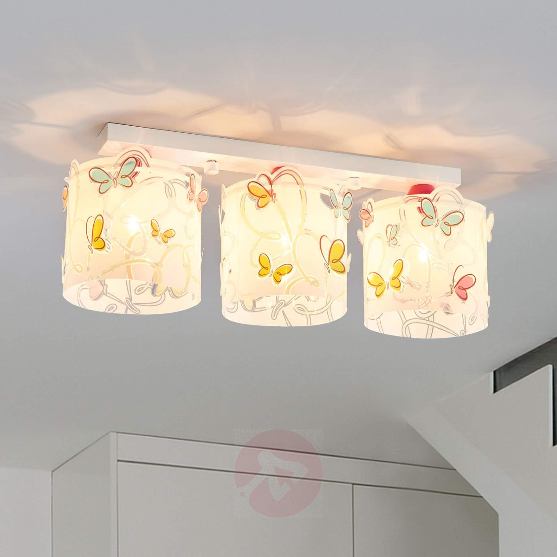 Full Size of Deckenlampe Butterfly Frs Kinderzimmer Kaufen Lampenweltde Deckenlampen Wohnzimmer Modern Regale Sofa Für Regal Weiß Kinderzimmer Deckenlampen Kinderzimmer