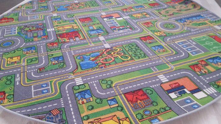 Medium Size of Teppichboden Kinderzimmer Teppich Spielteppich Street Life 195 Cm Rund Teppiche Regal Sofa Regale Weiß Kinderzimmer Teppichboden Kinderzimmer