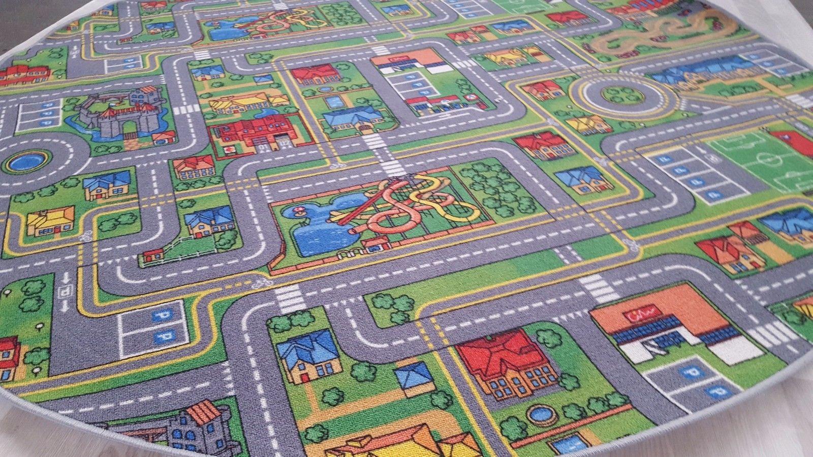 Full Size of Teppichboden Kinderzimmer Teppich Spielteppich Street Life 195 Cm Rund Teppiche Regal Sofa Regale Weiß Kinderzimmer Teppichboden Kinderzimmer