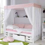 Mdchen Bett Rodysa In Wei Rosa Pharao24de Luxus Betten Weiß 140x200 Ausklappbares Barock Tempur Mit Matratze Test überlänge Schrank Ruf Preise Günstige Wohnzimmer Mädchen Bett