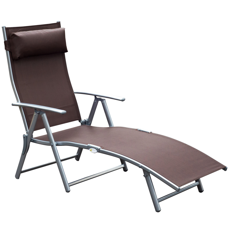 Full Size of Outsunny Sonnenliege Gartenliege Klappbar Verstellbar Liegestuhl Bett Ausklappbar Ausklappbares Wohnzimmer Gartenliege Klappbar