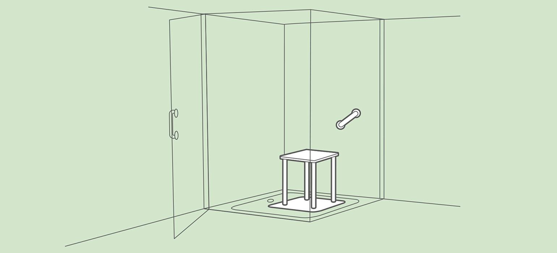 Full Size of Behindertengerechte Dusche Barrierefreie Pflegede Thermostat Ebenerdige Zuschuss Behindertengerechtes Bad Einhebelmischer Pendeltür Begehbare Fliesen Walkin Dusche Behindertengerechte Dusche