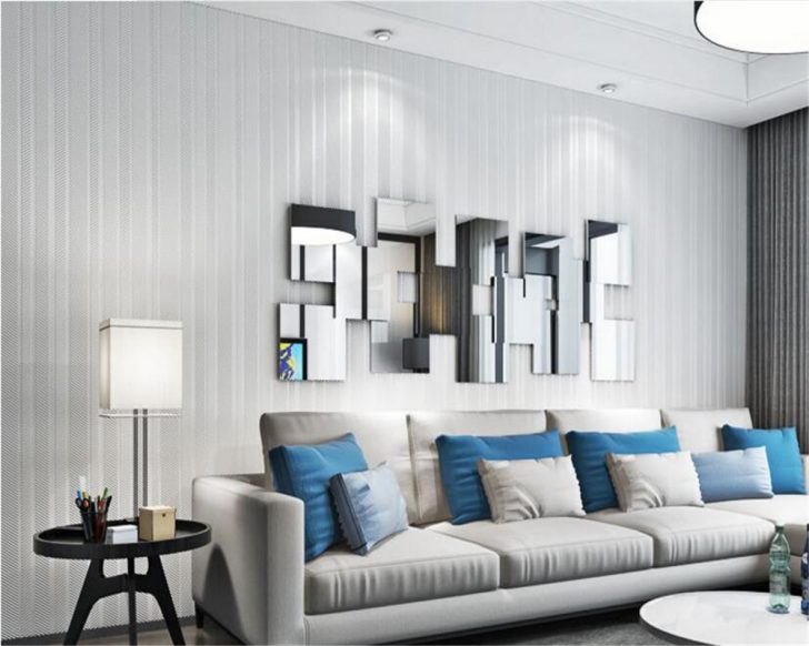 Medium Size of Beibehang Einfach Dark Blue Vliestapete Wand Papier Fürs Wohnzimmer Hängeschrank Heizkörper Fototapete Indirekte Beleuchtung Xxl Wandbild Stehlampe Teppiche Wohnzimmer Vliestapete Wohnzimmer