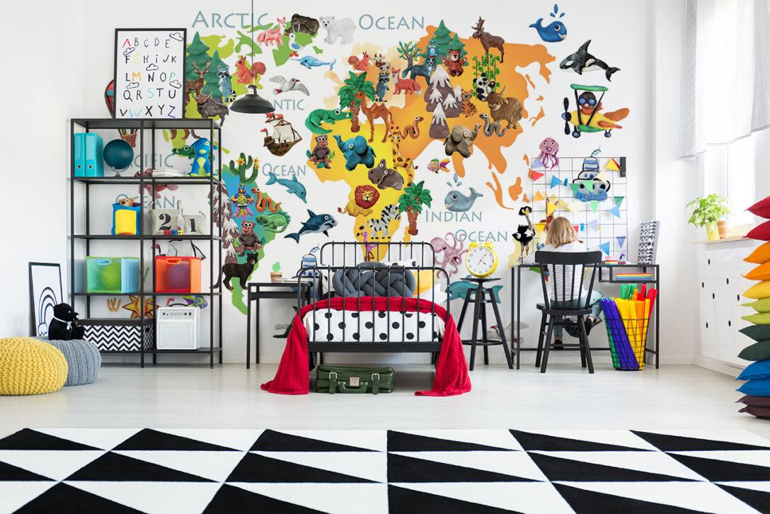 Large Size of Regale Kinderzimmer Regal Fototapeten Wohnzimmer Sofa Weiß Kinderzimmer Fototapeten Kinderzimmer