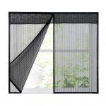 Ruber Magnetic Fliegengitter Magnet Rahmen 16x39inch Magnettafel Küche Fenster Für Maßanfertigung Wohnzimmer Fliegengitter Magnet