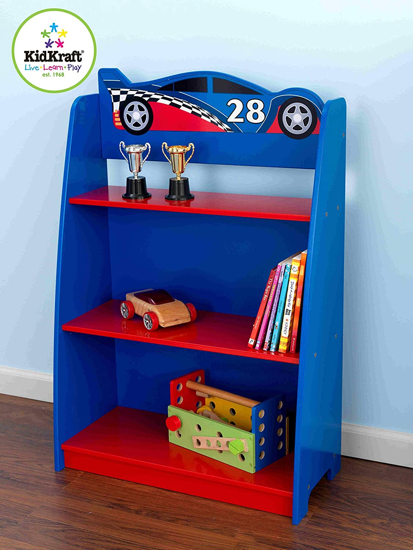 Full Size of Nachttisch Kinderzimmer Kidkraft 76041 Rennwagen Beistelltisch Und Mit Regal Regale Sofa Weiß Kinderzimmer Nachttisch Kinderzimmer
