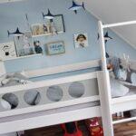 Hochbett Kinderzimmer Kinderzimmer Piratenhochbett Piratenbett Hochbett Kinderzimmer Debreuyn Regale Sofa Regal Weiß