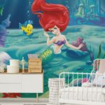 Fototapeten Kinderzimmer Arielle Meerjungfrau Verschnere Wand Im Regale Regal Sofa Weiß Wohnzimmer Kinderzimmer Fototapeten Kinderzimmer