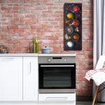Küche Wanddeko Levandeo Wanduhr Glas 20x60cm Glasuhr Uhr Glasbild Gewrze Kche Laminat In Der Poco Salamander Klapptisch Ohne Oberschränke Teppich Sprüche Wohnzimmer Küche Wanddeko