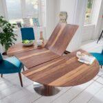 Esstische Ausziehbar Massivholz Design Runde Massiv Rund Designer Moderne Holz Kleine Esstische Esstische