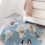Kinderteppich Weltkarte Von Hans Natur Sofa Kinderzimmer Wohnzimmer Teppiche Regal Regale Weiß Kinderzimmer Teppiche Kinderzimmer