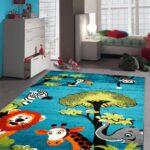 Teppichboden Kinderzimmer Kinderzimmer Amazonde Kinderteppich Spielteppich Kinderzimmer Teppich Regal Weiß Regale Sofa