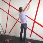 Moderne Wandfarben Tesa Diy Tipp Wandgestaltung Mit Abklebetechnik Youtube Modernes Sofa Esstische Deckenleuchte Wohnzimmer Bett 180x200 Duschen Bilder Fürs Wohnzimmer Moderne Wandfarben