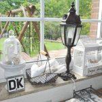 Fensterbank Dekorieren Wohnzimmer Fensterbank Dekorieren
