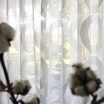 Vorhang Linnea Modernes Muster Halbtransparent Auf Ma Wohnzimmer Gardinen Wandtattoos Küche Modern Weiss Board Tapeten Ideen Teppich Poster Beleuchtung Wohnzimmer Gardinen Modern Wohnzimmer