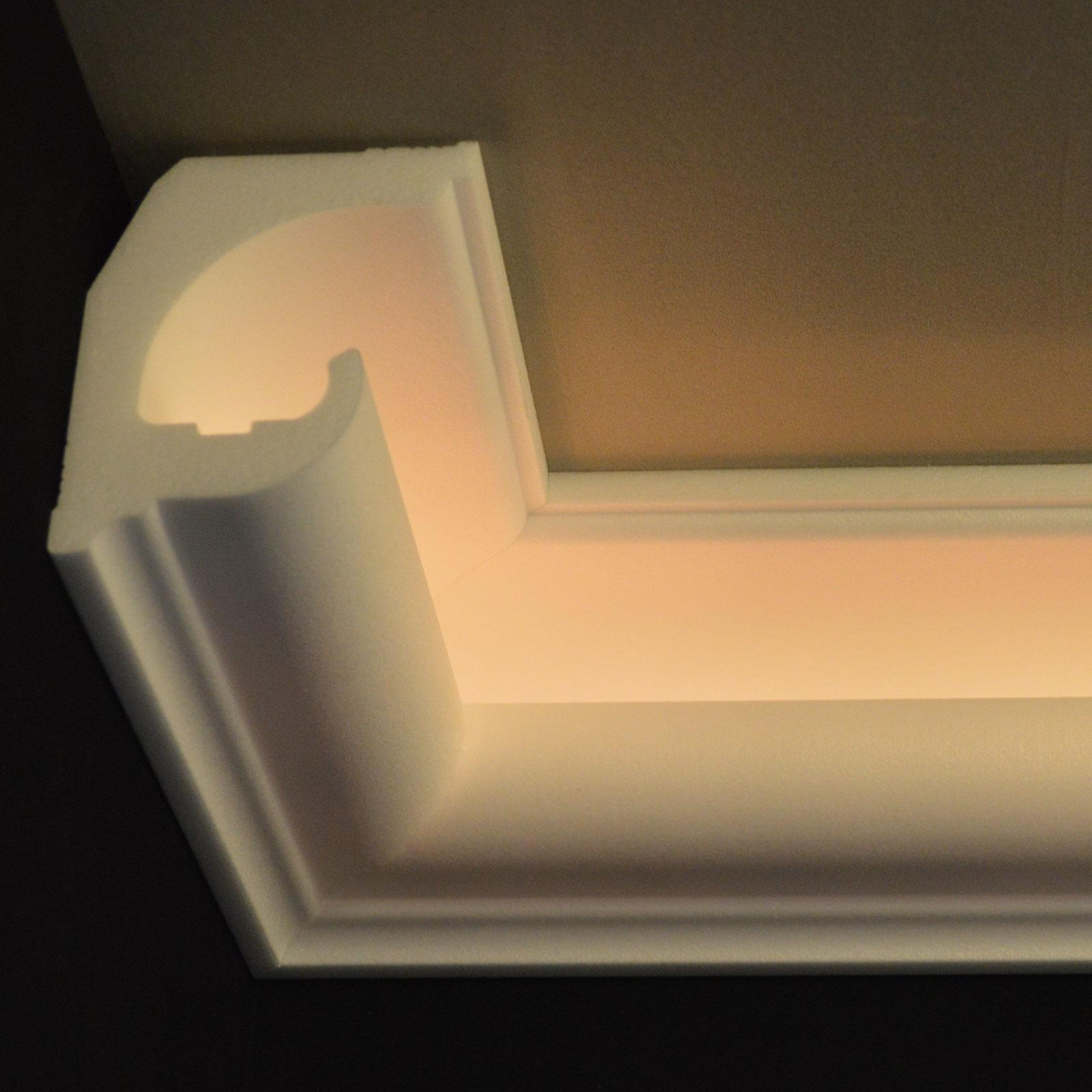Full Size of Stuck Deckenleuchte Schlafzimmer Moderne Wohnzimmer Deckenlampe Deckenlampen Für Tagesdecken Betten Deckenstrahler Tagesdecke Bett Küche Modern Bad Decken Wohnzimmer Indirekte Beleuchtung Decke