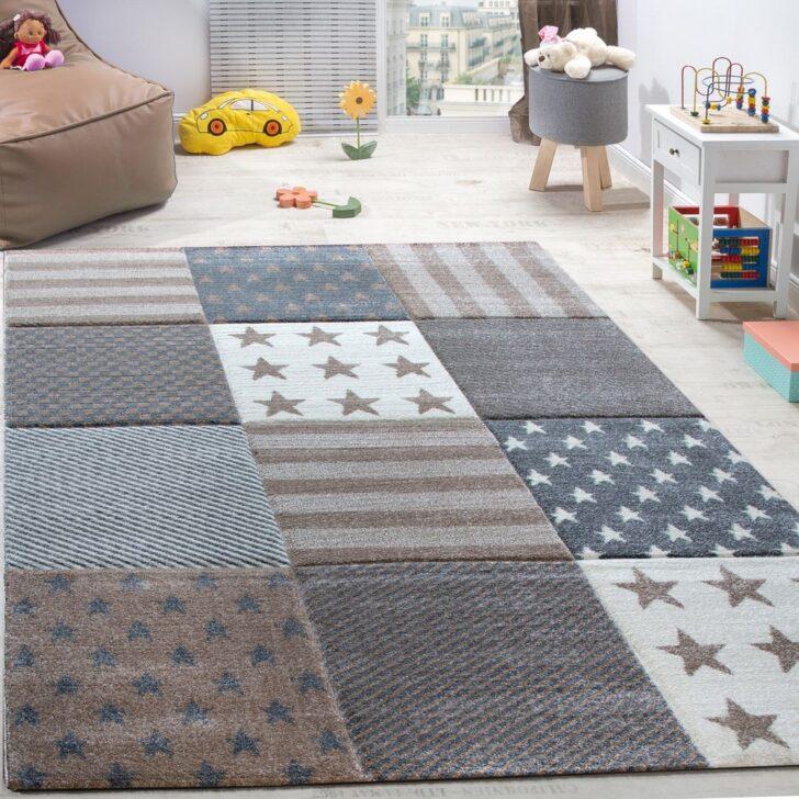 Medium Size of Kinderzimmer Teppich Sterne Karo Beige Teppichcenter24 Wohnzimmer Teppiche Regal Weiß Regale Sofa Kinderzimmer Teppiche Kinderzimmer