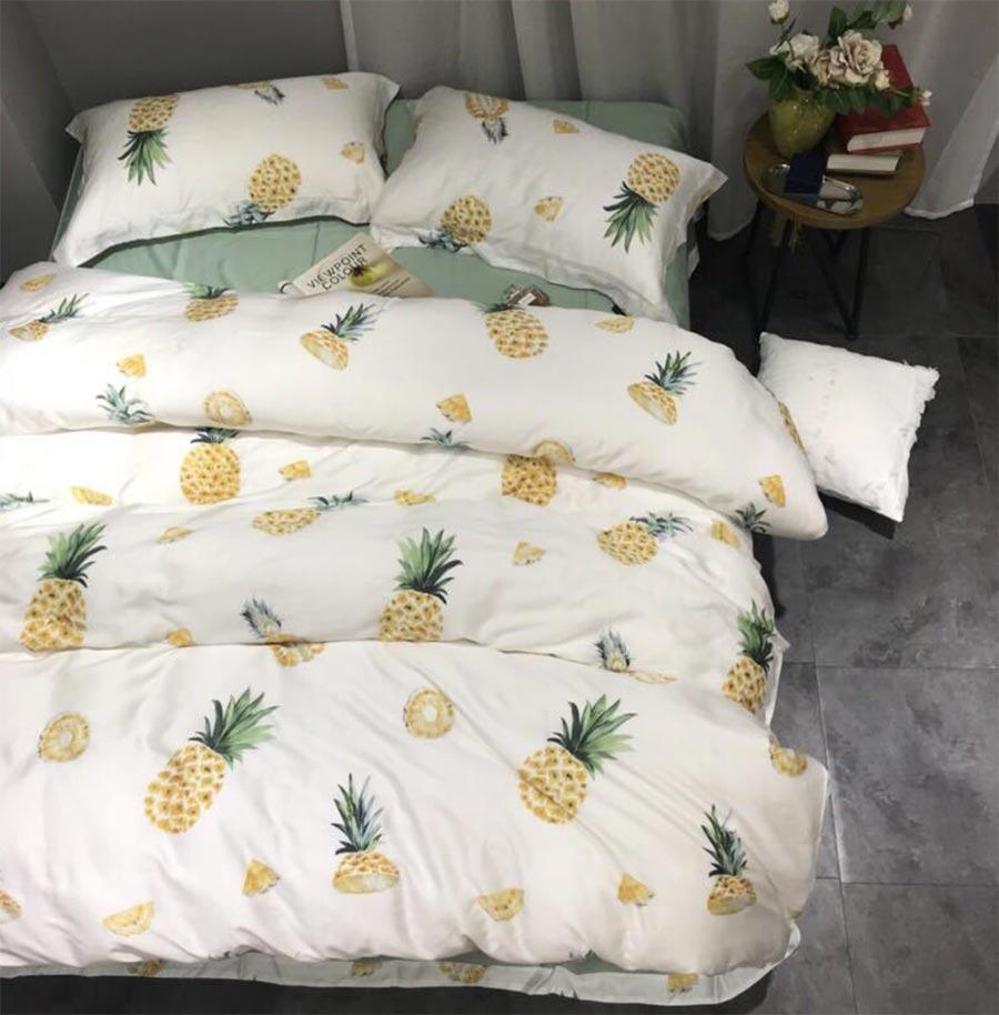 Full Size of Bettwäsche Teenager Se Obst Ananas Bettwsche Set Erwachsenen Betten Für Sprüche Wohnzimmer Bettwäsche Teenager