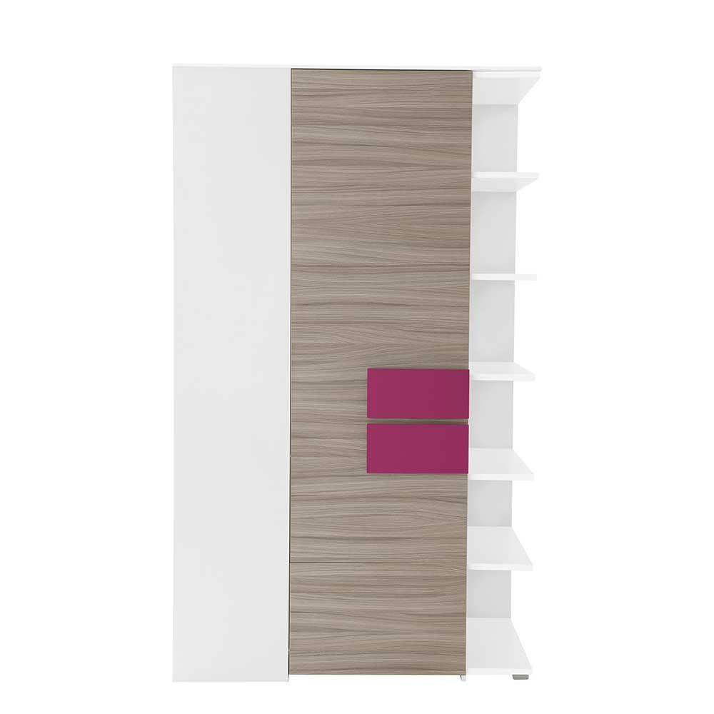 Full Size of Jugendzimmer Eckschrank Vadrus In Holz Pink Pharao24de Bad Küche Schlafzimmer Regal Kinderzimmer Weiß Sofa Regale Kinderzimmer Eckschrank Kinderzimmer