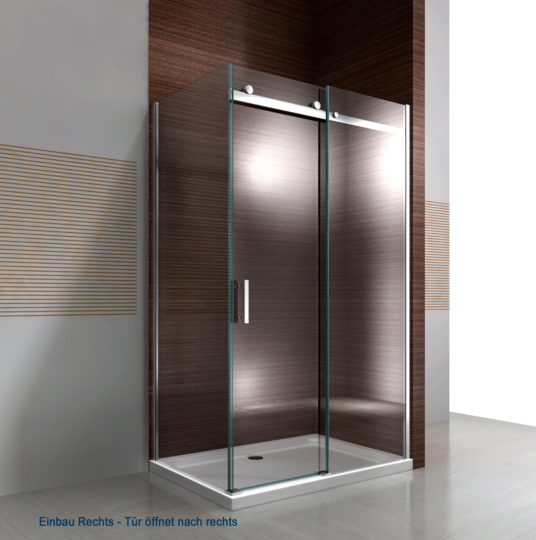 Full Size of Duschkabine Nano Echtglas Ex806 Schiebetr 90 120 195 Cm Dusche Mischbatterie Hüppe Duschen Bodengleiche Fliesen Wand Kaufen Haltegriff Glasabtrennung Dusche Glasabtrennung Dusche