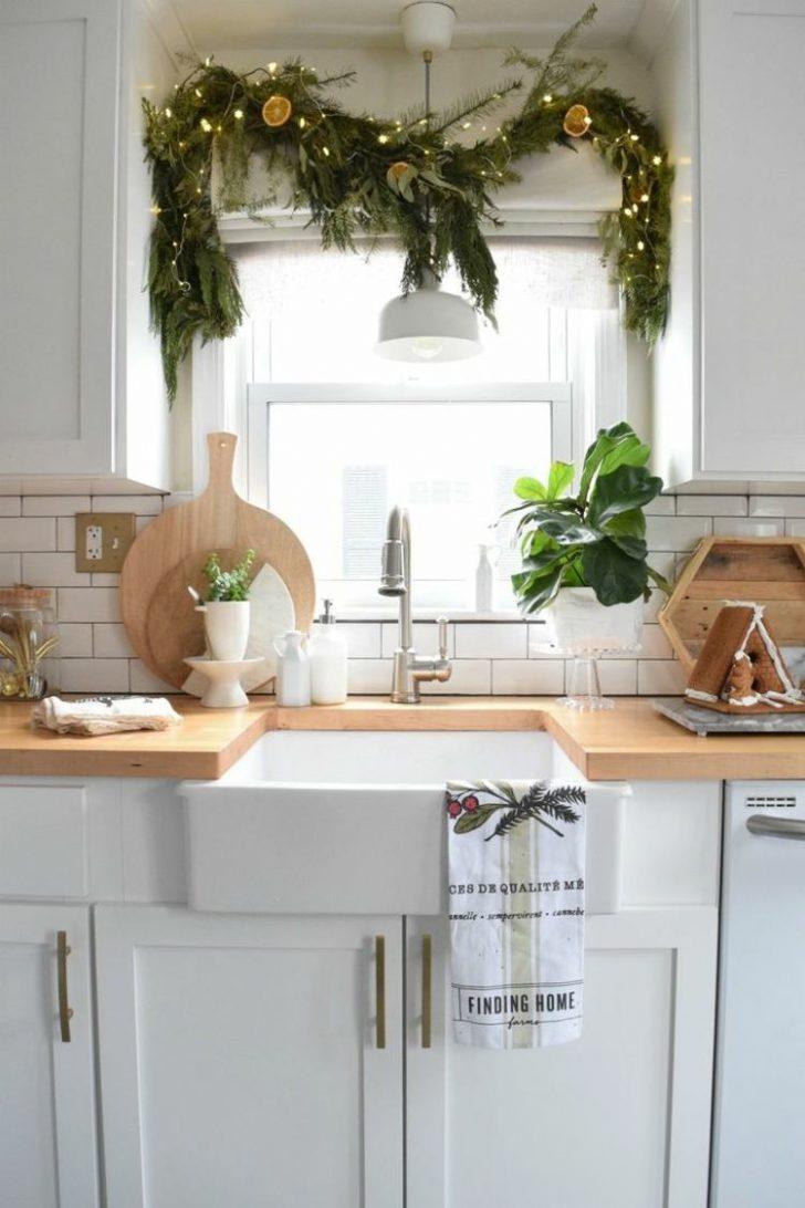 Medium Size of Sie Mchten Kche Weihnachtlich Dekorieren Hier Ein Paar Landhausküche Weiß Küche Einrichten Holzregal Industrie Singleküche Arbeitsplatte Winkel Schwingtür Wohnzimmer Deko Ideen Küche
