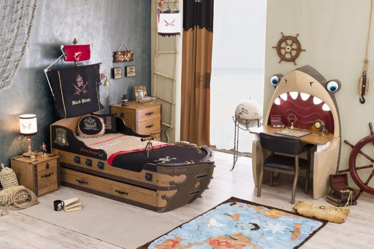 Medium Size of Kinderzimmer Pirat Sparset 4 Teilig Traum Mbelcom Regal Weiß Regale Sofa Kinderzimmer Piraten Kinderzimmer