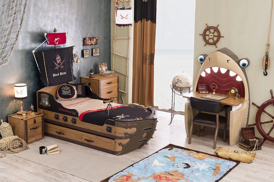 Full Size of Kinderzimmer Pirat Sparset 4 Teilig Traum Mbelcom Regal Weiß Regale Sofa Kinderzimmer Piraten Kinderzimmer