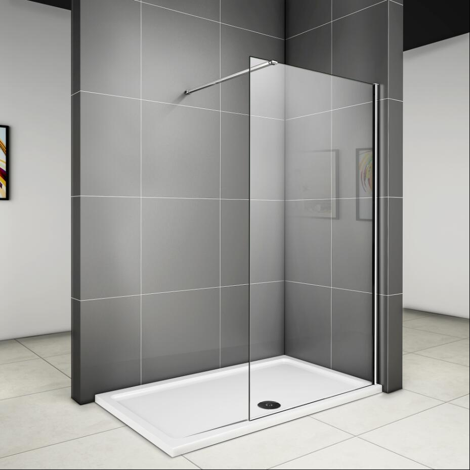 Full Size of Glaswand Dusche 80 185 Cm Walk In Duschabtrennung Duschwand Glas Badewanne Küche Bodenebene Bodengleiche Fliesen Unterputz Armatur Einbauen Ebenerdig Glastür Dusche Glaswand Dusche