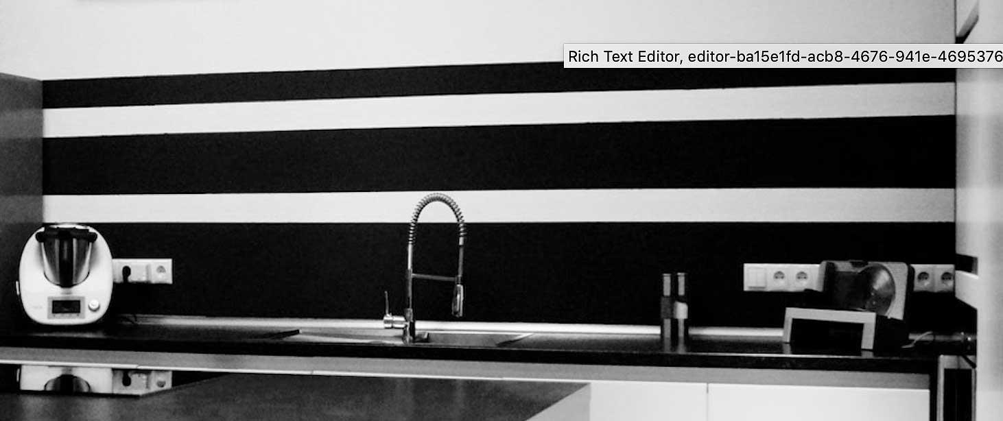 Full Size of Küchenwand Wandmuster Selber Streichen Heimwerkerde Wohnzimmer Küchenwand