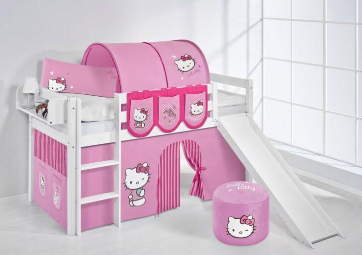 Medium Size of Kinderzimmer Vorhang Spielbett Hello Kitty Rosa Wei Mit Rutsche Und Jelle Wohnzimmer Regal Bad Weiß Regale Sofa Küche Kinderzimmer Kinderzimmer Vorhang