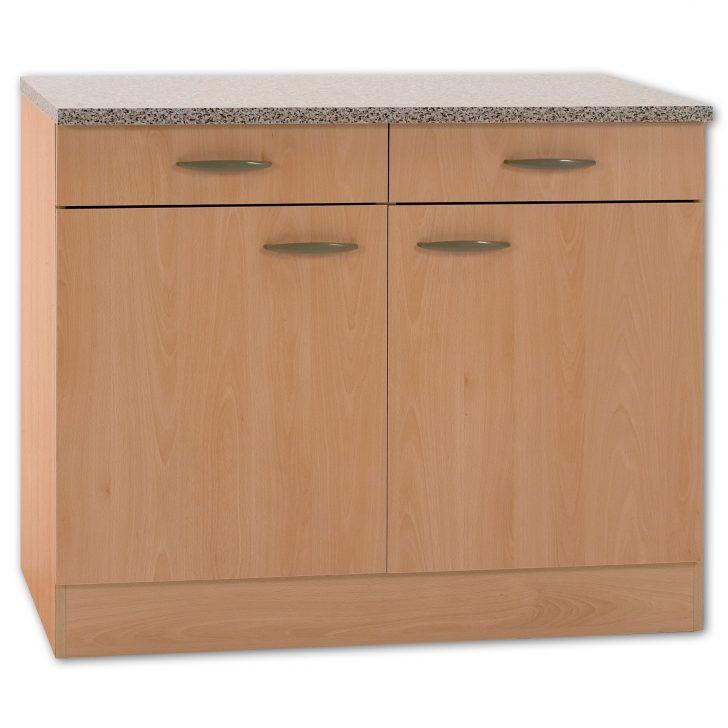 Medium Size of Küchenunterschrank Kchenunterschrank Klassik Buche Nachbildung Mit Arbeitsplatte 100 Wohnzimmer Küchenunterschrank